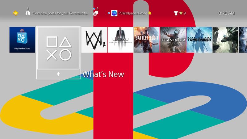 PlayStation 'Retro' Logo
