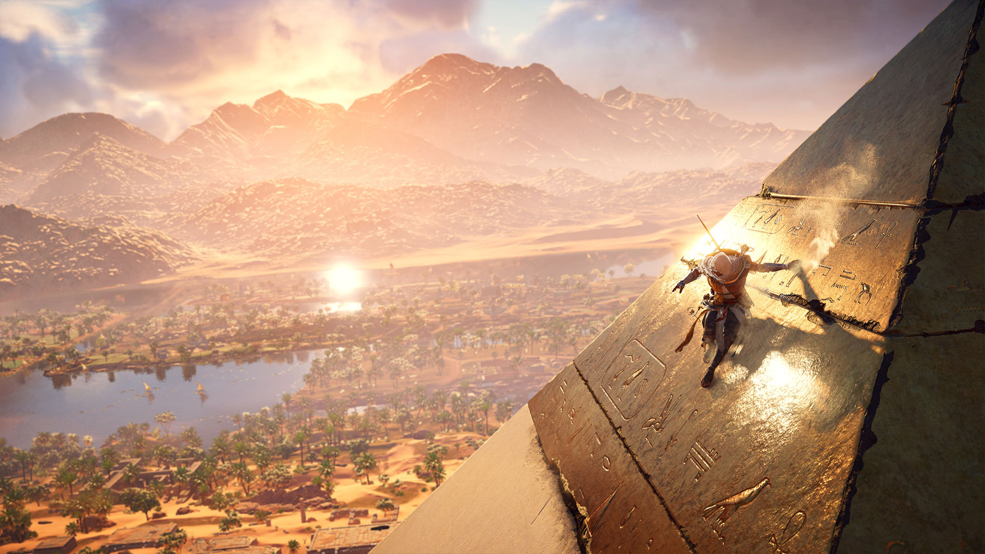 Assassin S Creed Origins Playstation Wallpapers