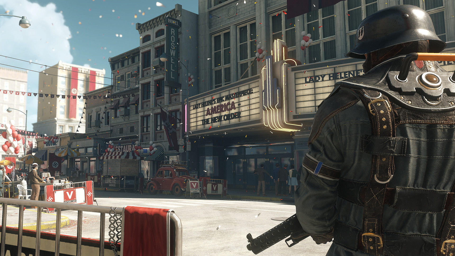 Wolfenstein The New Colossus Ps Wallpapers