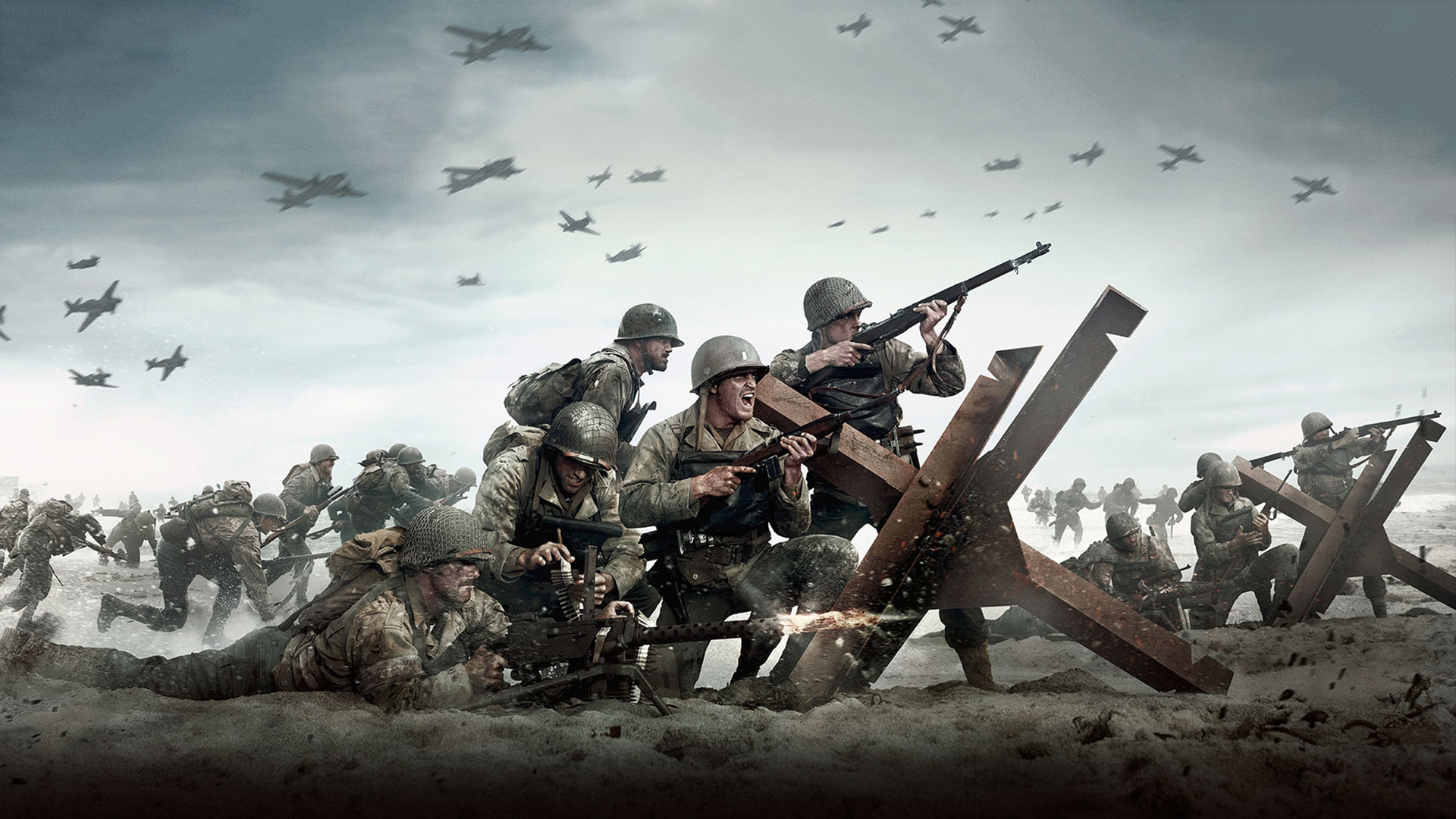 call of duty wwii – ps wallpapers