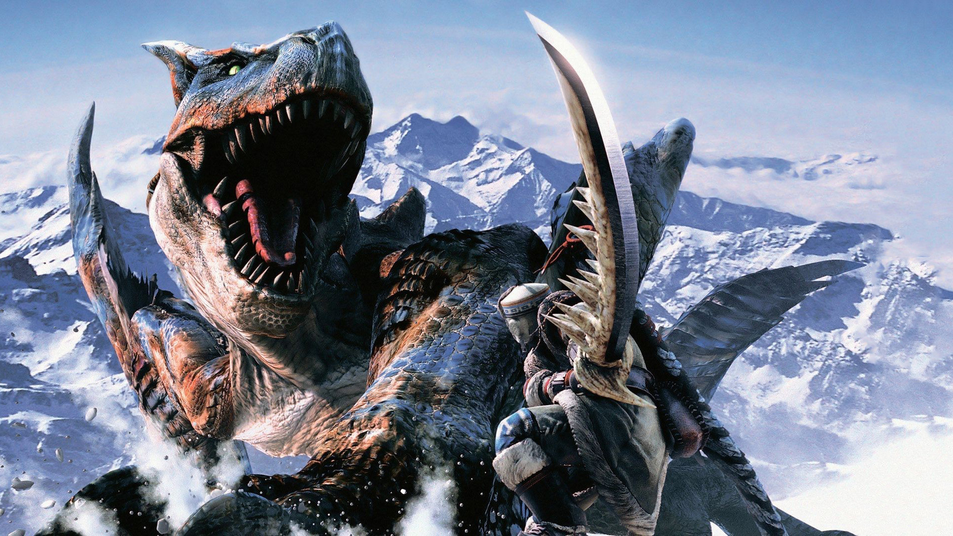 1080p monster hunter wallpaper hd