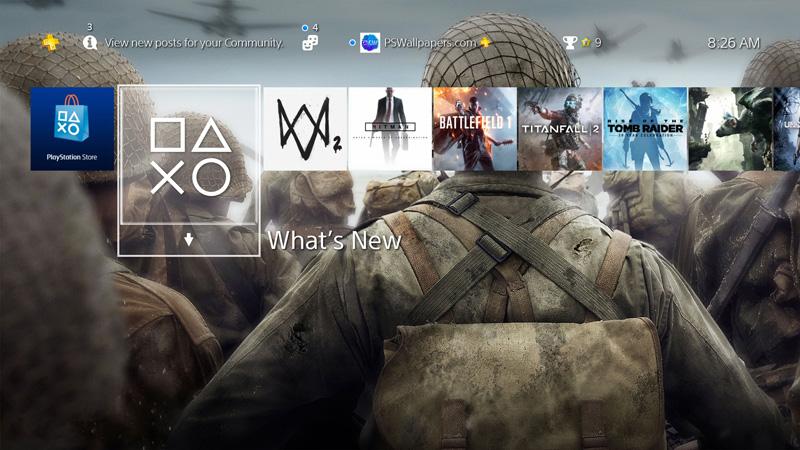 Call Of Duty Ww2 Wallpaper 4k: Ps4 Wallpaper 4k Labzada Wallpaper