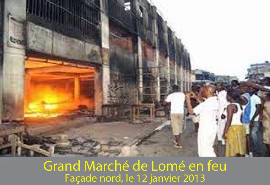 """Résultat de recherche d'images pour """"togo incendie marché lomé"""""""