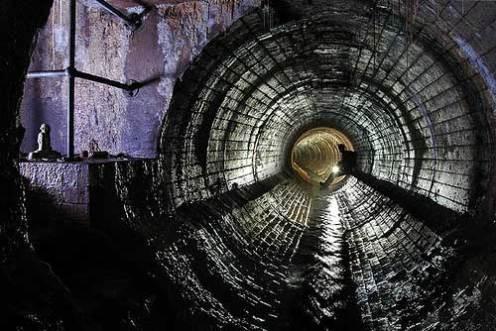 Crystal Phallus drain, Birmingham.