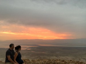 Masada sunrise 300x225 - I've been dying to go so as I'm dying, I'm going.