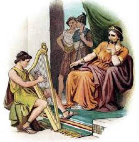 Dávid a Saul melancholia
