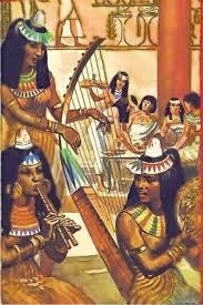 Hudba Starý Egypt