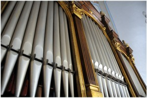 organ kostola v Hrhove