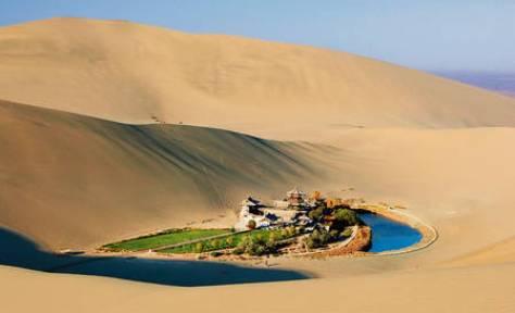 miesto siesty - oáza Sahara