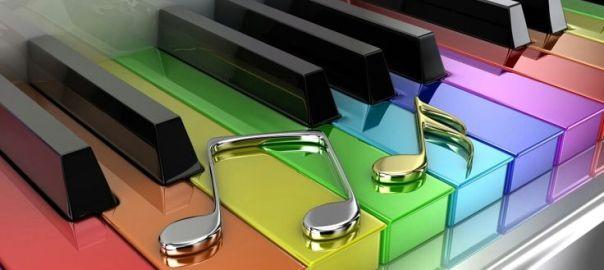 Farebná klávesnica