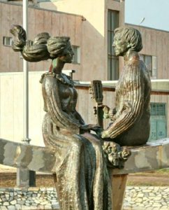Fountain-sculpture-Love-devoted-to-Vladimir-Vysotsky-and-Marina-Vlady-in-Volgodonsk