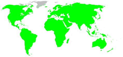 Salticidae habitat distribution, drawn after Platnick -World Spider Catalog 7.0.