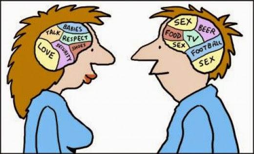 Γιατί οι γυναίκες και οι άντρες σκέφτονται διαφορετικά ;