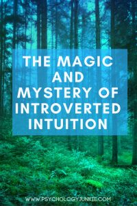 Get an in-depth look at the neuroscience and experience of having introverted intuition. For #INFJs, #INTJs, #ENFJs, and #ENTJs