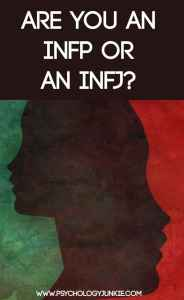 The best article out there on finding out if you're an INFP or an INFJ! Complete with infographic. #INFJ #INFP
