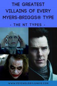 Discover the most epic #INTP, #INTJ, #ENTP and #ENTJ movie villains!