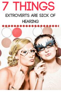 extrovert problems