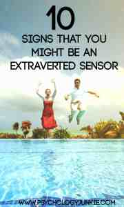 find out if you're an extraverted sensing personality type! #ESTP #ESFP #ISTP #ISFP #MBTI
