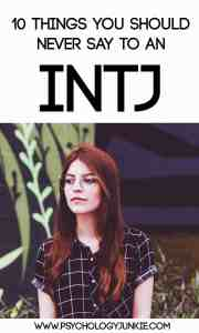 What should you NEVER say to an #INTJ ? Find out!