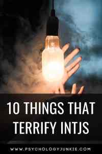 10 of the biggest #INTJ fears! #Personality #MBTI #Myersbriggs #personalitytype