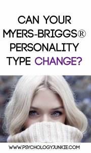 Can your #MBTI type change? Find out! #ENFJ #ENFP #INFJ #INFP #ENTJ #ENTP #INTJ #INTP #ISTJ #ISTP #ESTJ #ESTP #ISFJ #ISFP #ESFJ #ESFP