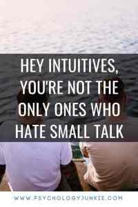 Can #sensors only engage in small talk? Are #introverts and #intuitives the only ones who enjoy deep conversation? Find out from an #ESTP perspective! #MBTI #personality #personalitytype