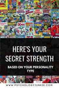 Discover your secret strength, based on your #personality type! #myersbriggs #MBTI #personalitytype #INFJ #INTJ #INFP #INTP #ENFP #ISTJ #ISFJ