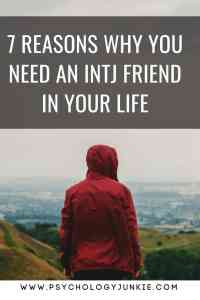 The benefits to friendship with an #INTJ #personality #MBTI #myersbriggs