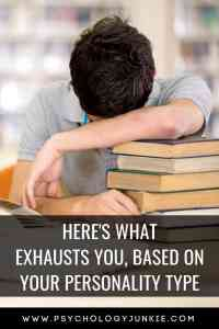Find out what drains and exhausts each #personality type! #MBTI #Personalitytype #INFJ #INTJ #INFP #INTP #ENFP