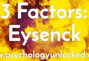 eysenck theory
