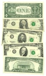 US Currency; public domain image
