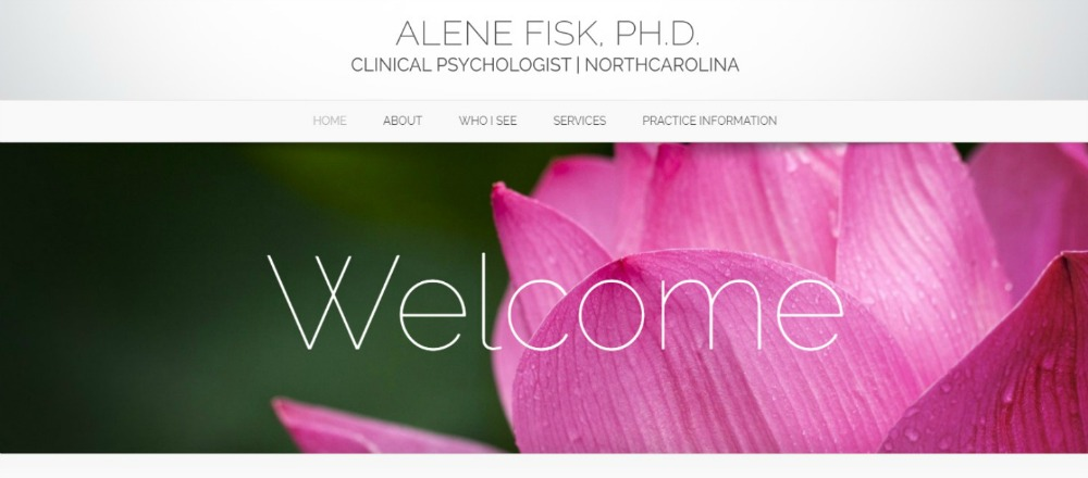 psychologist website design, wordpress websites for psychology practice