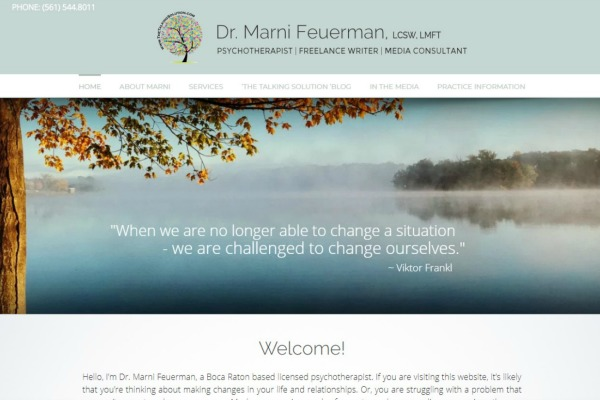 affordable wordpress website design for therapists