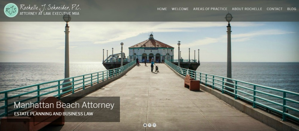 website design boutique lawyer california