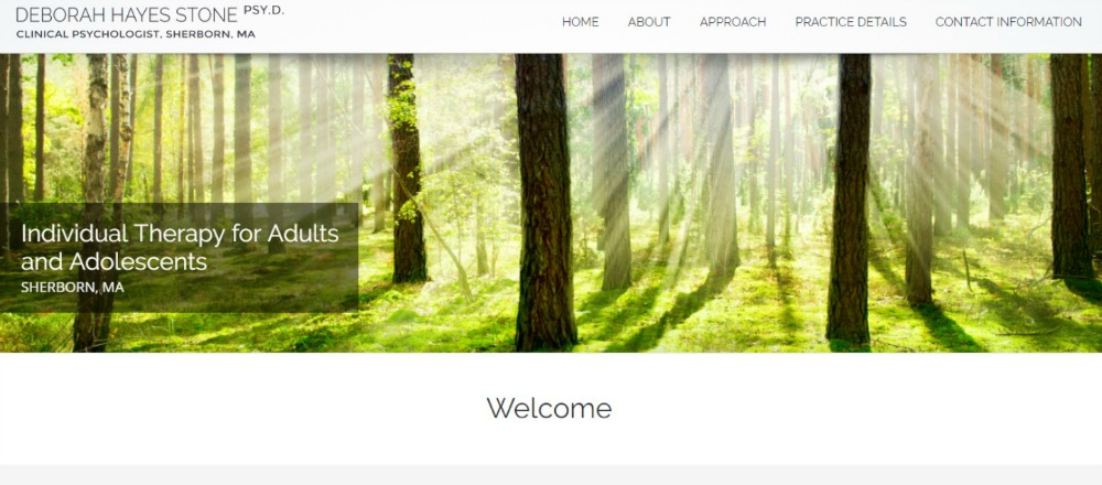 Wordpress Websites for Therapists, WEBSITE DESIGN FOR THERAPISTS ONEPAGE WORDPRESS WEBSITE