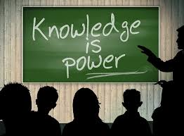 Power comes from information and education