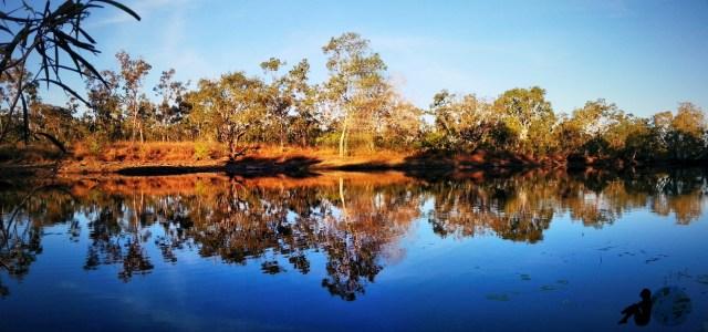Serene Waters Below Our Camp