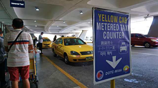 metered taxi manila