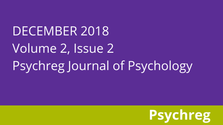 December 2018 Issue of Psychreg Journal of Psychology Now Available