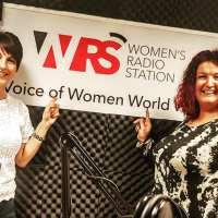 Dawn Avery Spoke at Women's Radio Station