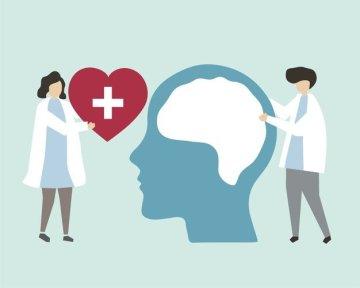 mental health nurse concept