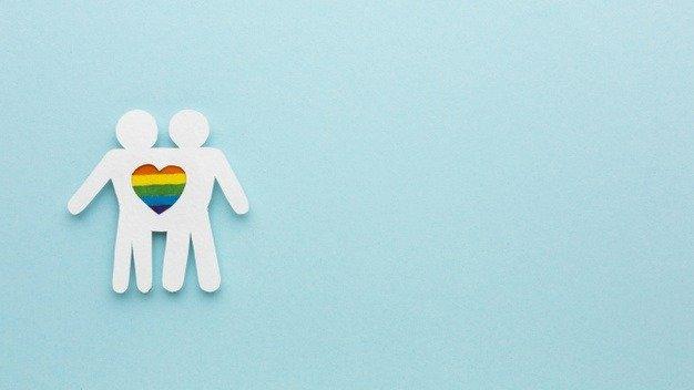 gay couple concept