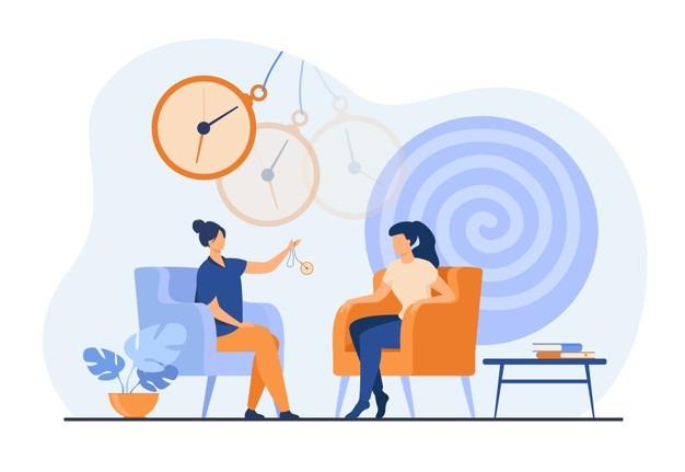 women hypnotherapy