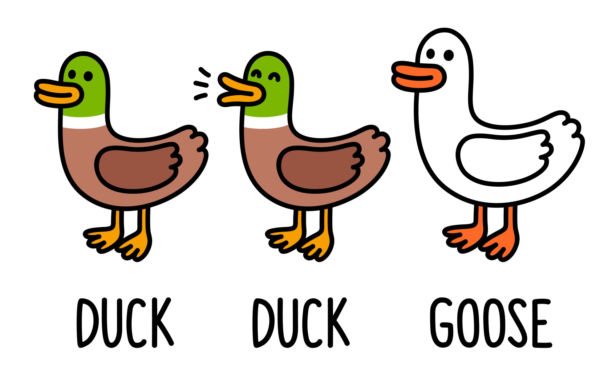 Duck, duck, goose: be careful with selection