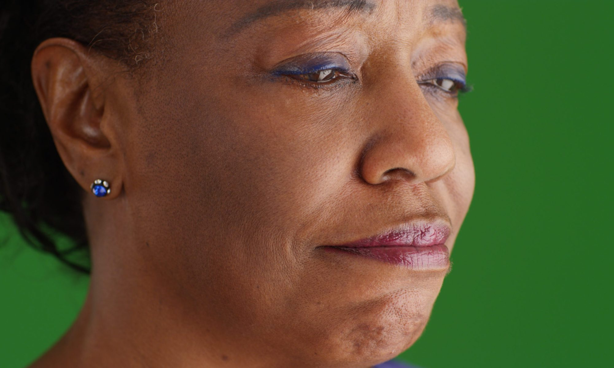 Warning signs about resilience: Closeup of teary-eyed black senior woman experiencing compromised resilience