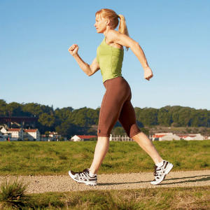 ansia attività fisica camminare