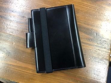コードバン手帳カバーの件