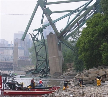 I 35 Bridge Collapse