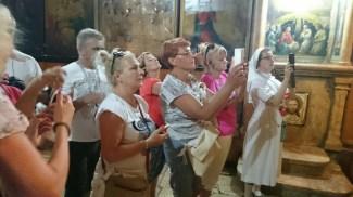 Grota Getsemani ikościół grobu NMP