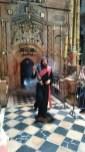 Ormianin - mnich wBazylice Grobu Pańśkiego